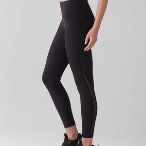 Lululemon train times 7/8 pant in black